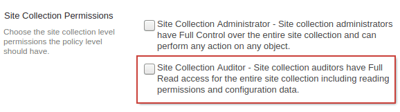 Fusion SharePoint Crawl Permissions